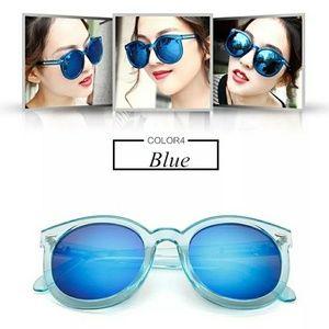 Accessories - Fashion multicolour  Mirror glasses sunglasses wom